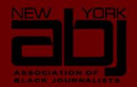 New York Association of Black Journalists logo