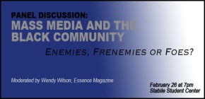 EVENT: Mass Media & the Black Community