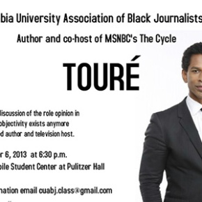 EVENT: Touré Talks Opinion in Journalism