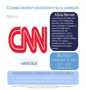EVENT: Covering Underreported Communities with Alicia Stewart